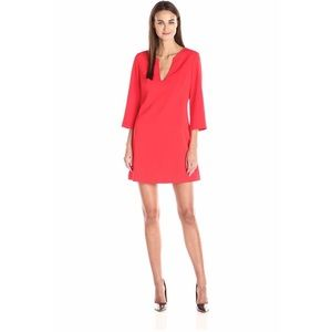 NWOT Amanda Uprichard Camilla Split Neck Dress